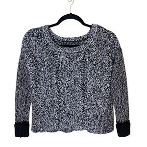 4/$25 American Eagle Chunky Knit Cropped Sweater
